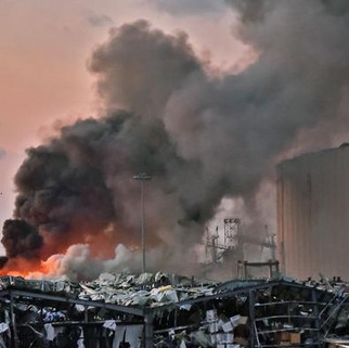 Afirma AMLO que no hay mexicanos entre víctimas por explosión en Beirut