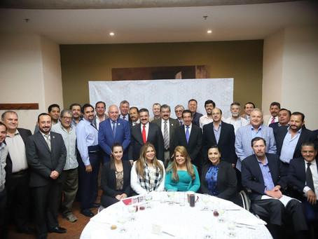 Carlos Lomelí destaca importancia del empresariado para la Cuarta Transformación
