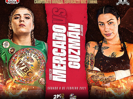 Fernando Beltrán Rendón promueve el box femenil: Mercado vs Guzmán