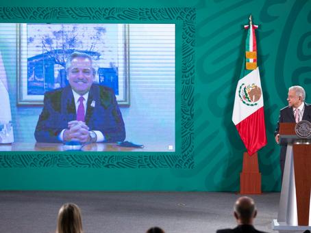 México y Argentina fortalecen cooperación para producir vacuna de AstraZeneca