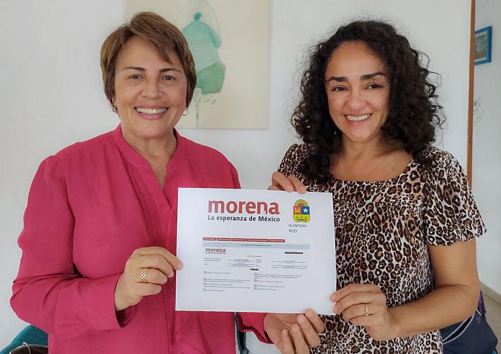 Laura Beristain Navarrete, alcaldesa de Solidaridad