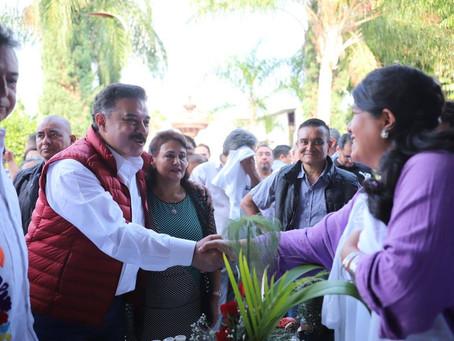 Recorre Carlos Lomelí municipios de Jalisco