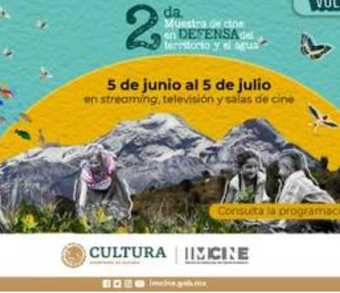 La 2da Muestra de Cine en Defensa del Territorio y el Agua se podrá ver en streaming, tv y espacios