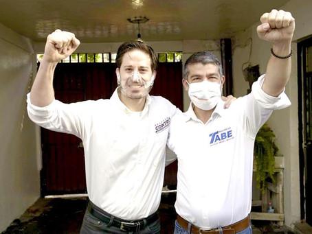 Eduardo Contró se une a candidatura de Mauricio Tabe