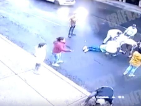 Ladrón termina baleado en intento de asalto en la Venustiano Carranza