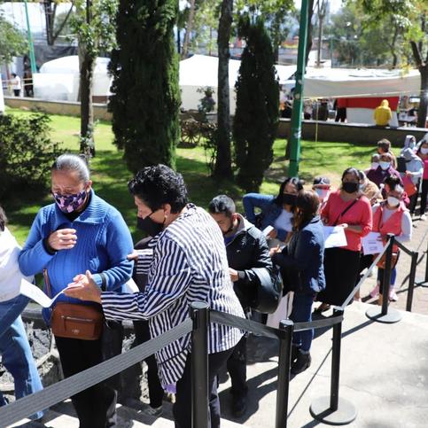 """Programa """"Jefas y Jefes de familia"""" beneficia a 7,500 cuajimalpenses"""