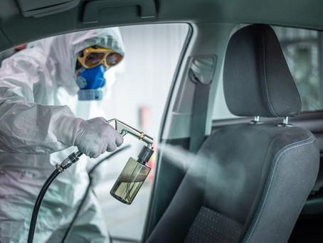Cómo desinfectar nuestro coche en esta pandemia: Jorge Carlos Fernández Francés