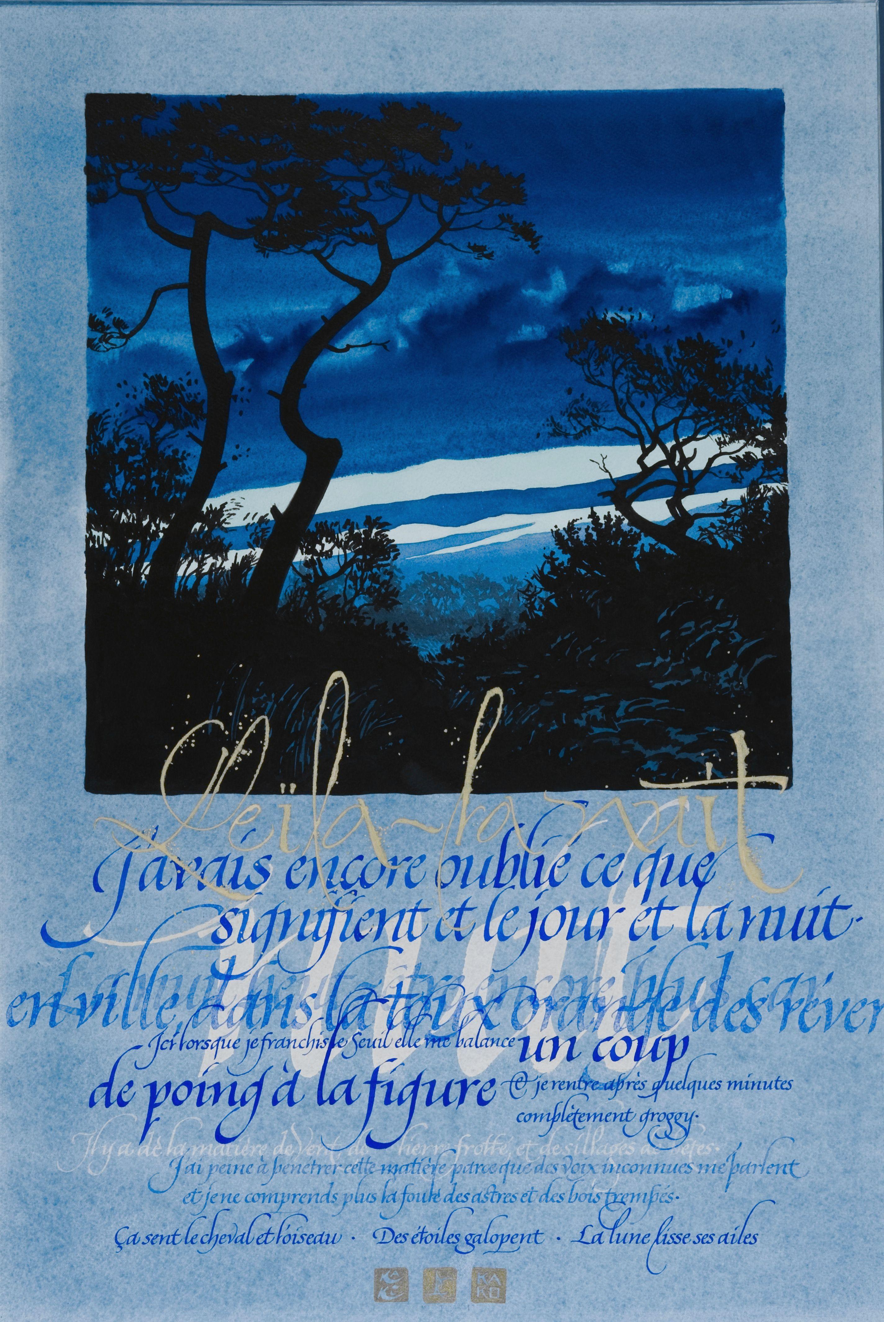 LEILA -calligraphie R. Lempereur