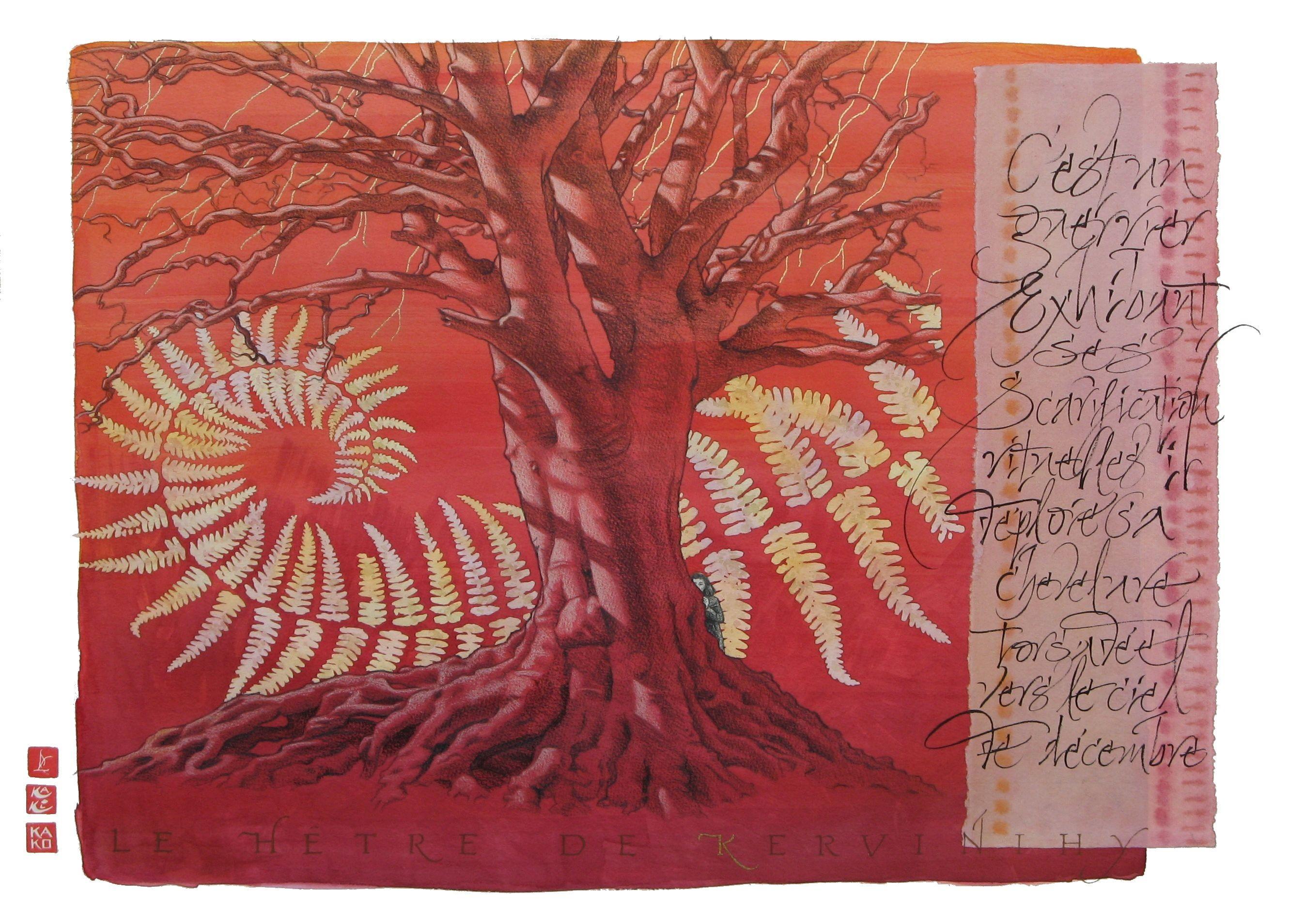 KERVINIHY-calligraphie R.Lempereur