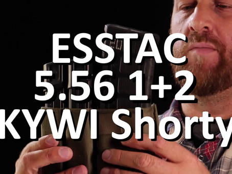 ESSTAC Magazin Tasche: 5.56 1+2 KYWI Shorty