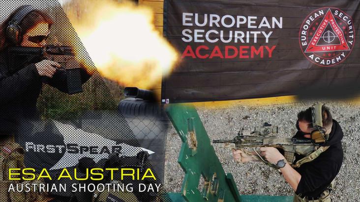 ESA AUSTRIA  SHOOTING DAY