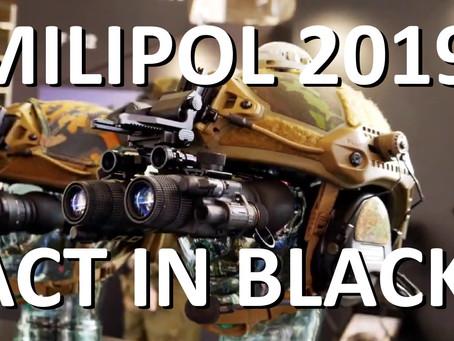 MILIPOL 2019: ACT IN BLACK