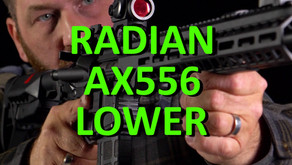 RADIAN WEAPONS AX556 FULL-AMBI LOWER RECEIVER
