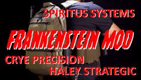 FRANKENSTEIN MOD PLATE CARRIER (CRYE PRECISION + SPIRITUS SYSTEMS + HALEY STRATEGIC)