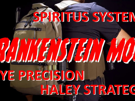 FRANKENSTEIN MOD PLATE CARRIER (CRYE PRECISION + SPIRITUS SYSTEMS + HALEY STRATEGIC)