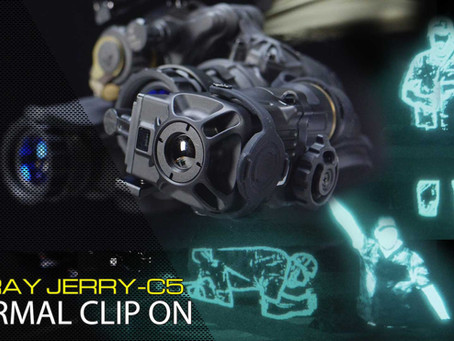 INFIRAY JERRY-C5 THERMAL CLIP ON DEVICE