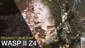 DIE PHANTOMLEAF STORY - TEIL2: TARNUNG FÜR URBANE GEBIETE  - WASP II Z4
