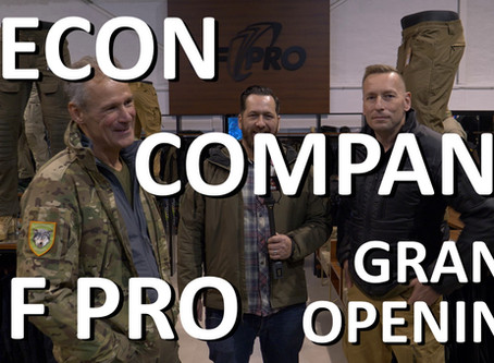 RECON COMPANY: GRAND OPENING UF PRO SHOP