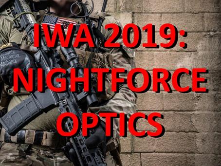 IWA 2019: Nightforce Optics