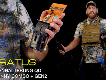 STRATUS SUPPORT SYSTEMS QD PICATINNY COMBO + GEN2 HOLSTER