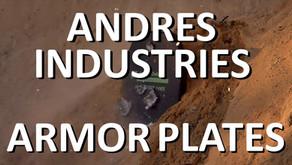 ANDRES INDUSTRIES OPS-PE01 & OPS-AL03 SCHUTZPLATTEN