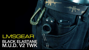 LMSGEAR BLACK ELASTANE M.U.D. V2 TWK