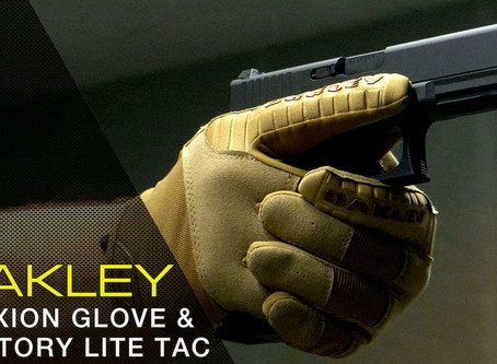 OAKLEY SI FACTORY LITE TACTICAL GLOVE & SI FLEXION GLOVE
