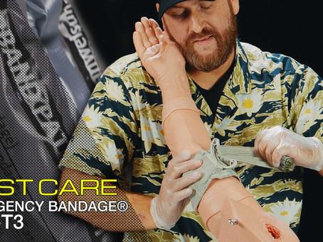 FIRST CARE EMERGENCY BANDAGE T3 (TACTICAL TRAUMA TREATMENT BANDAGE)