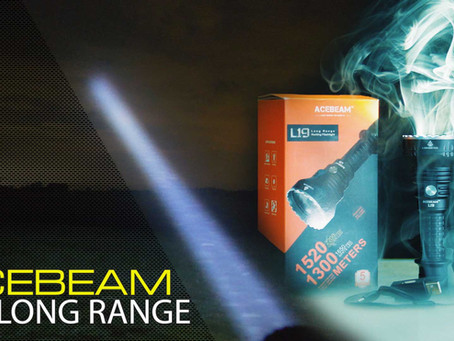 ACEBEAM L19 LONG RANGE HUNTING FLASHLIGHT