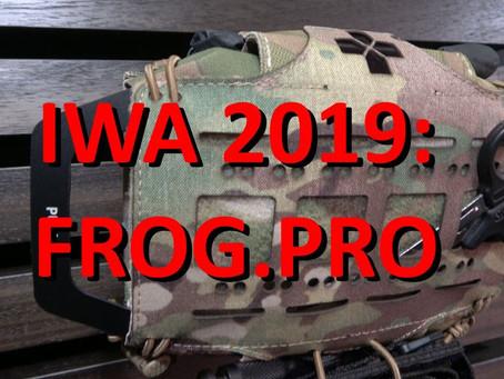IWA 2019: FROG.PRO
