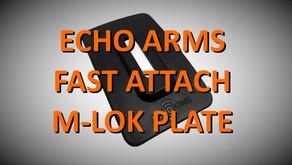 Echo Arms Fast Attach M-LOK Plate