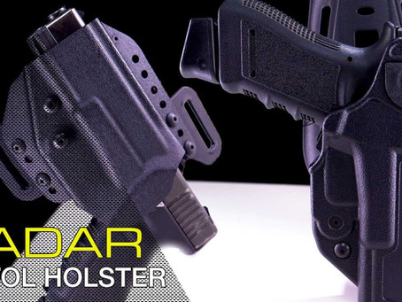 RADAR 1957 HOLSTER: TWO FAST, SHOTAT & IWB HOLSTER