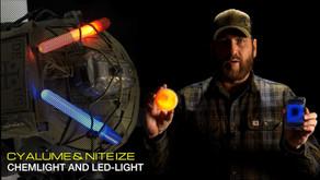 CYALUME SNAPLIGHT | VISIPAD | LIGHTSHAPE & NITE IZE MINI GLOW STICK