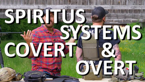 SPIRITUS SYSTEMS COVERT & OVERT PLATE CARRIER