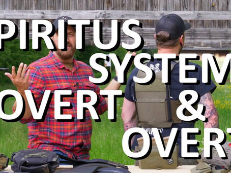 SPIRITUS SYSTEMS COVERT & OVERT PLATE CARRIER