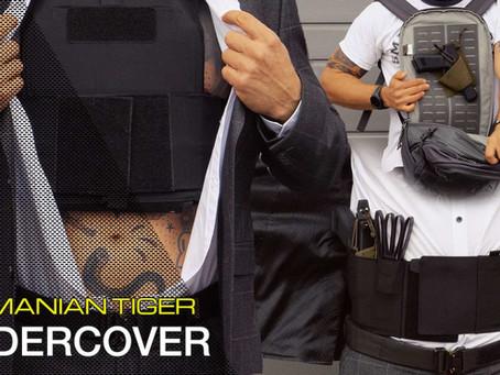 TASMANIAN TIGER UNDERCOVER: SECRET CUMMERBUND + PLATE CARRIER LP + CITY DAYPACK + MODULAR DAYPACK SW