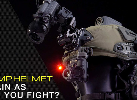 TRAIN AS YOU FIGHT? BUMP HELMETS