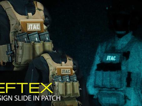 DEFTEX CALLSIGN SLIDE-IN PATCH