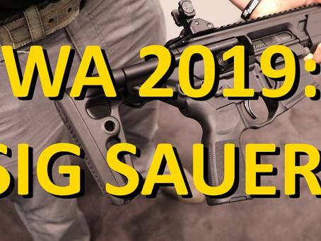 IWA 2019: Sig Sauer