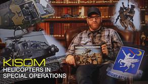 BOOKS: K-ISOM HELICOPTERS IN SPECIAL OPERATIONS / HUBSCHRAUBER IM SPEZIALEINSATZ