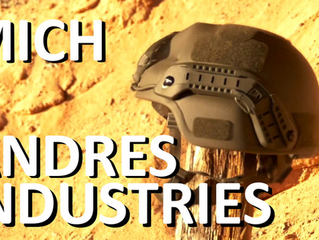 ANDRES INDUSTRIES MICH HELM