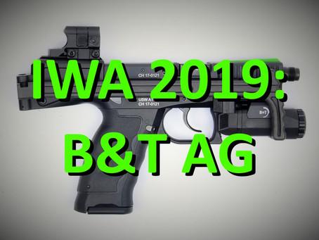 IWA 2019: B&T (früher Brügger & Thomet) USW Anschlagschäfte