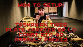 TASMANIAN TIGER HOW TO: COMBI RIG QR, PLATE CARRIER QR LC & ASSAULT PACK 12