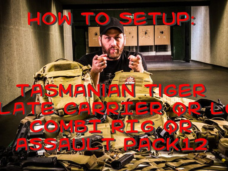 Tasmanian Tiger How To: Combi RIg QR, Plate Carrier QR LC und Assault Pack 12