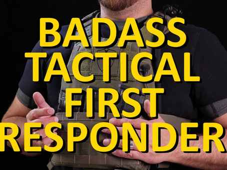 Badass Tactical Gear (BTG) -First Responder Plate Carrier