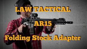 LAW TACTICAL GEN3 AR15 FOLDING STOCK ADAPTER