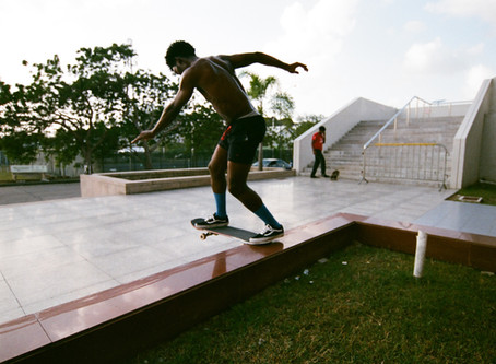 Skating around the Caribbean with Good Times Familia