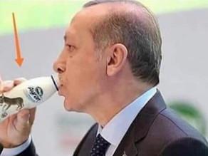 ماذا يشرب أردوجان؟