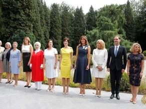 زوجات رؤساء دول حلف الأطلسي