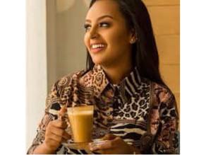 قهوة إثيوبية بالحليب